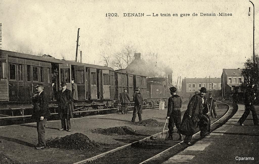 Denain 59 nord cartes postales anciennes sur cparama for Photographe clamart gare