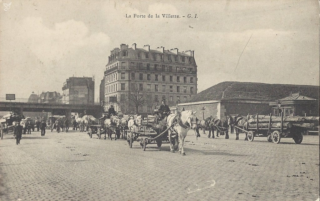 news de paris xixe arr page 11 cartes postales anciennes sur cparama. Black Bedroom Furniture Sets. Home Design Ideas