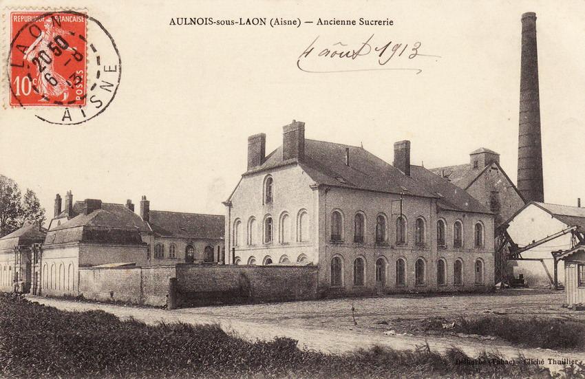Aulnois sous laon 02 aisne cartes postales anciennes for Bureau 02 laon
