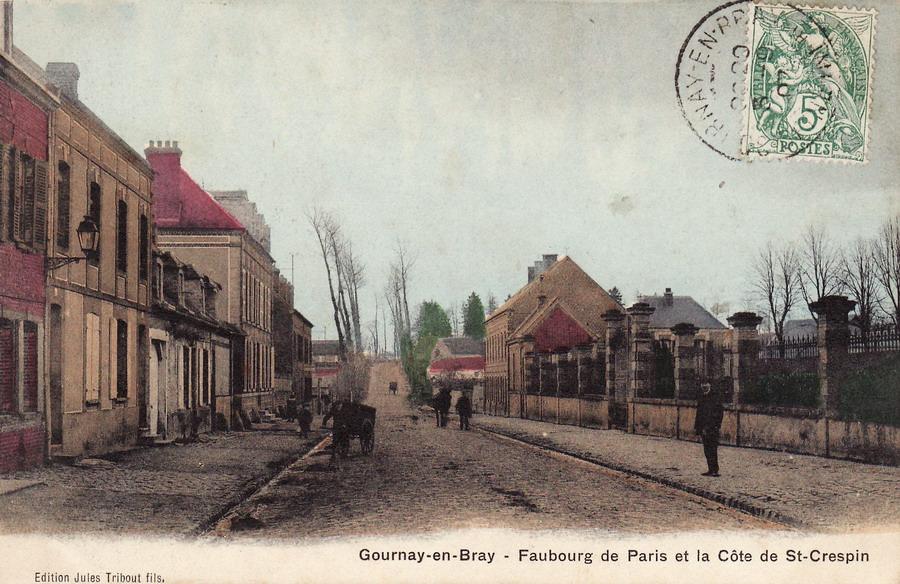 gournay en bray 76 seine maritime cartes postales anciennes sur cparama. Black Bedroom Furniture Sets. Home Design Ideas
