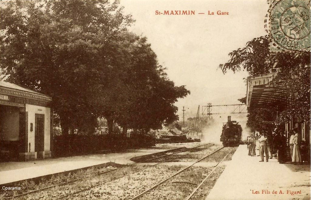 Saint maximin la sainte baume 83 var cartes postales for Piscine saint maximin la sainte baume