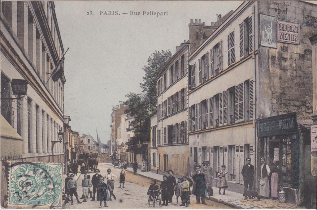 10 Avenue De La Porte De Menilmontant Avenue De La Porte