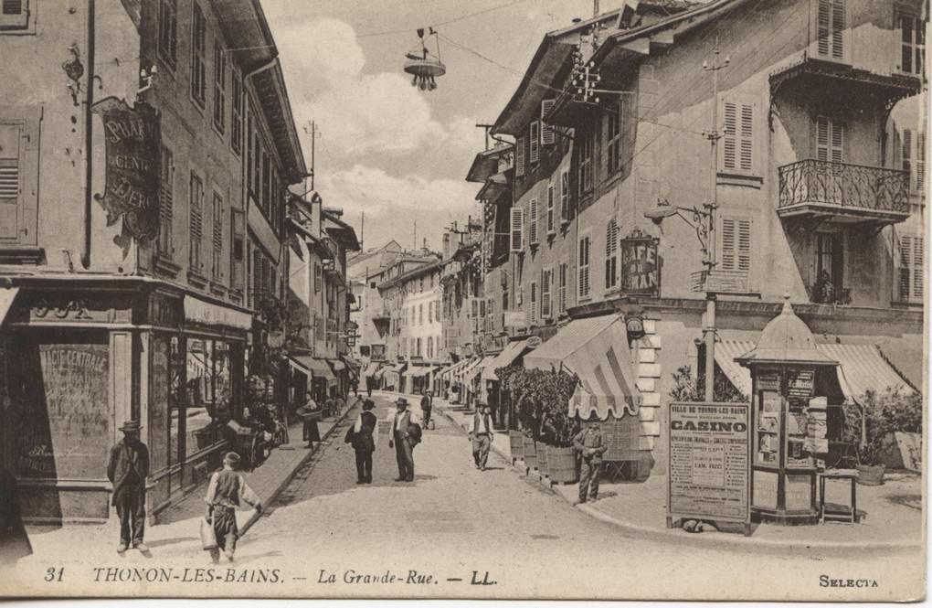 Thonon Les Bains 74 Haute Savoie Cartes Postales