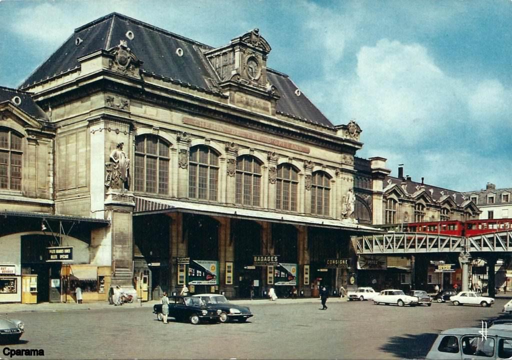 paris la gare d 39 austerlitz paris hier aujourd 39 hui cartes postales anciennes sur cparama. Black Bedroom Furniture Sets. Home Design Ideas