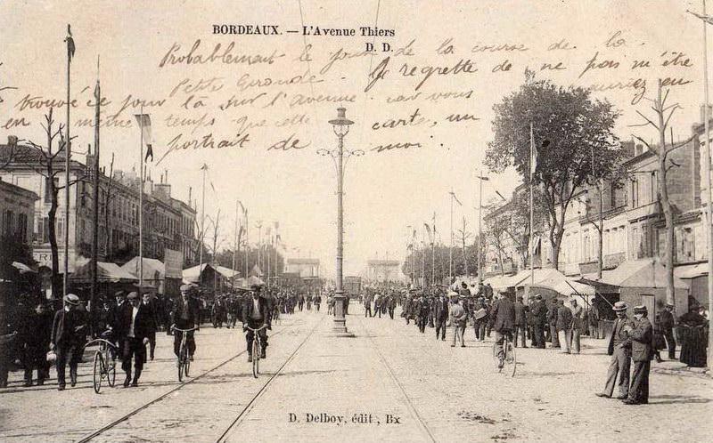 1 cartes postales anciennes diverses de bordeaux - Cabinet radiologie avenue thiers bordeaux ...