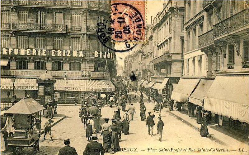 News de bordeaux page 2 cartes postales anciennes sur for Rue catherine opalinska nancy
