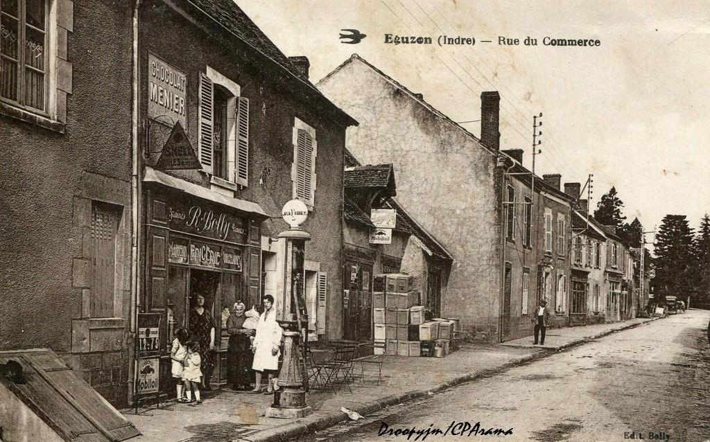 Eguzon 36 indre cartes postales anciennes sur cparama - Rue du commerce cuisine ...