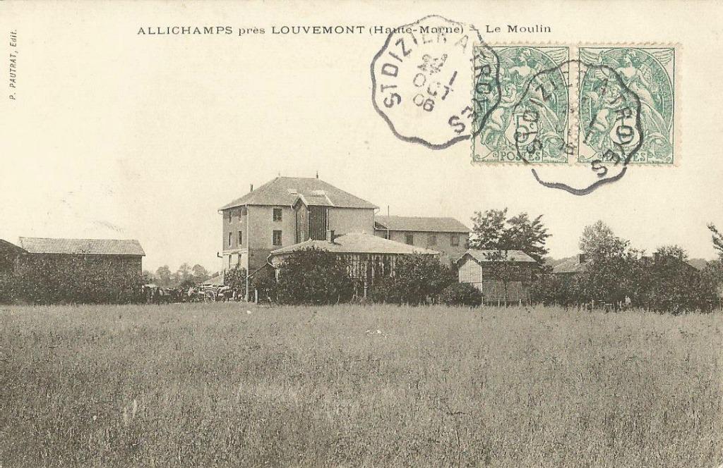 Allichamps 52 haute marne cartes postales anciennes for 52 haute marne