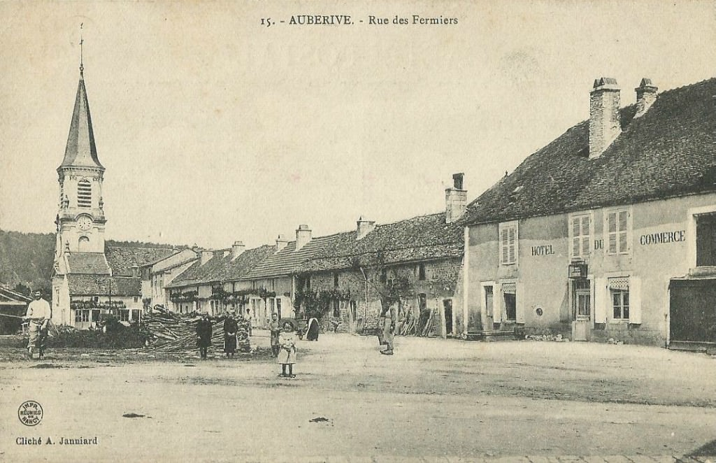 Auberive 52 haute marne cartes postales anciennes for 52 haute marne