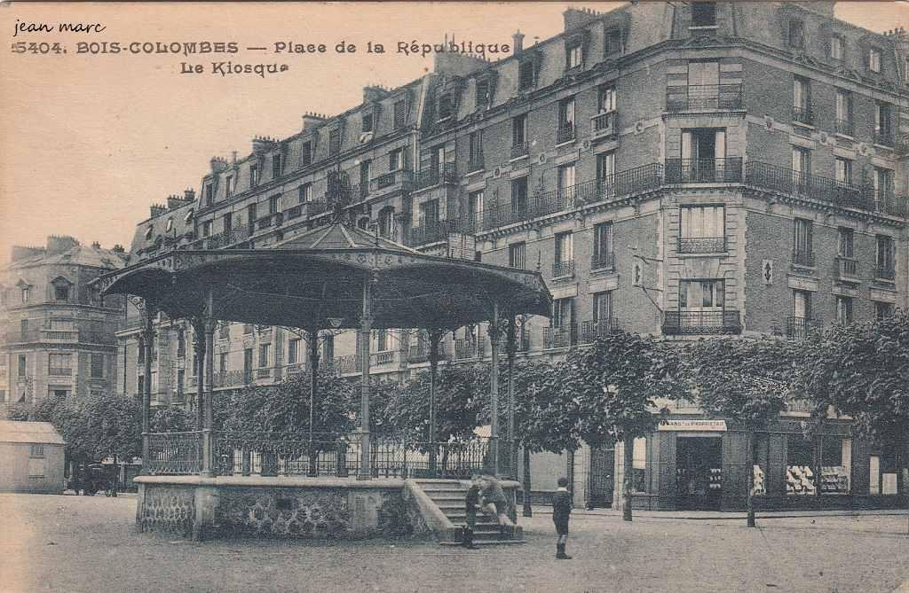 BoisColombes  92  HautsdeSeine  Cartes Postales Anciennes sur  ~ Carte Bois Colombes