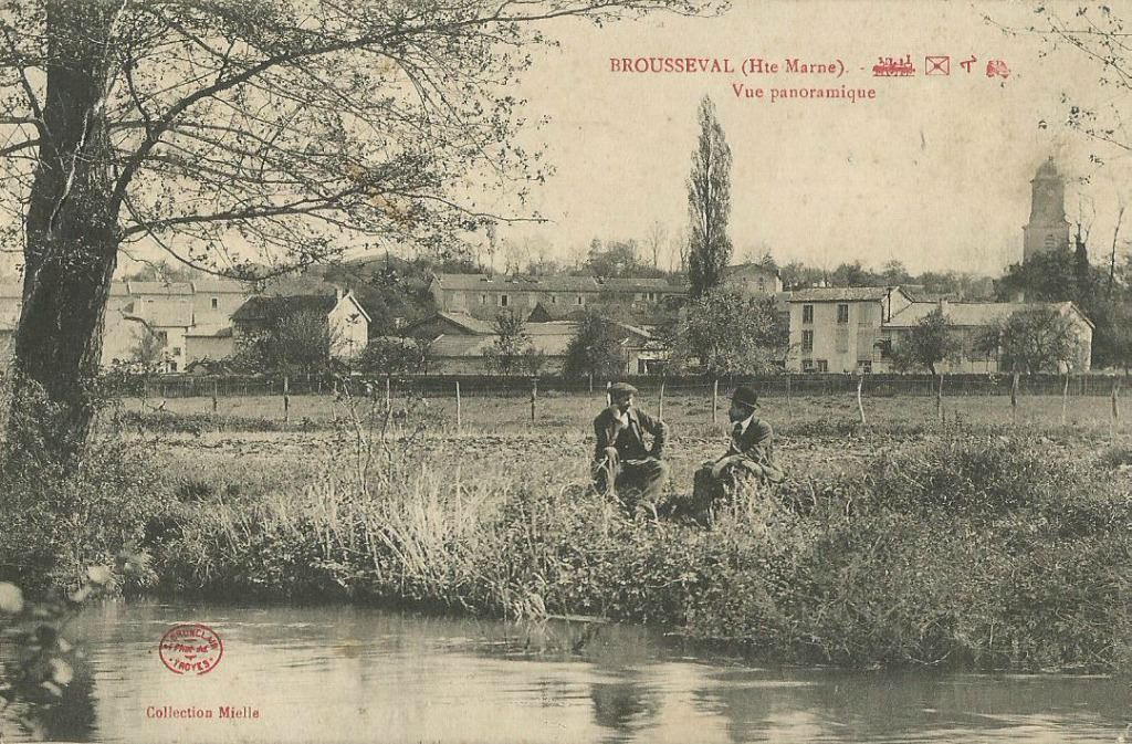 Brousseval 52 haute marne cartes postales anciennes for 52 haute marne