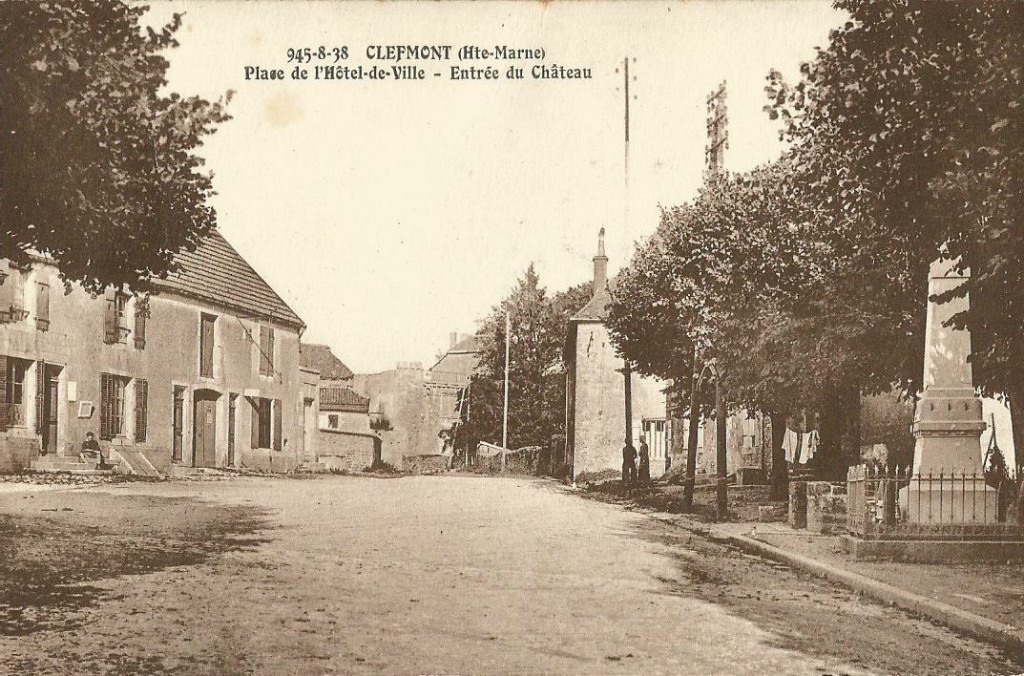 Clefmont 52 haute marne cartes postales anciennes for 52 haute marne