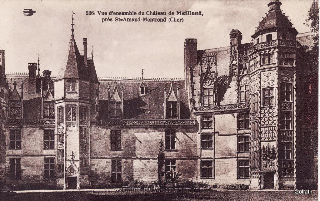Meillant 18 cher cartes postales anciennes sur cparama - Office de tourisme saint amand montrond ...