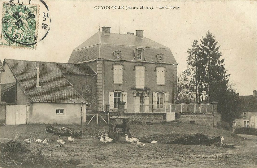 Guyonvelle 52 haute marne cartes postales anciennes for Haute marne 52