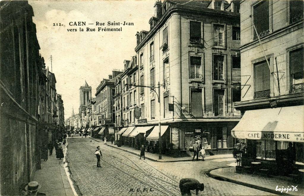 Caen 14 calvados page 3 cartes postales anciennes sur cparama - Rue saint laurent caen ...