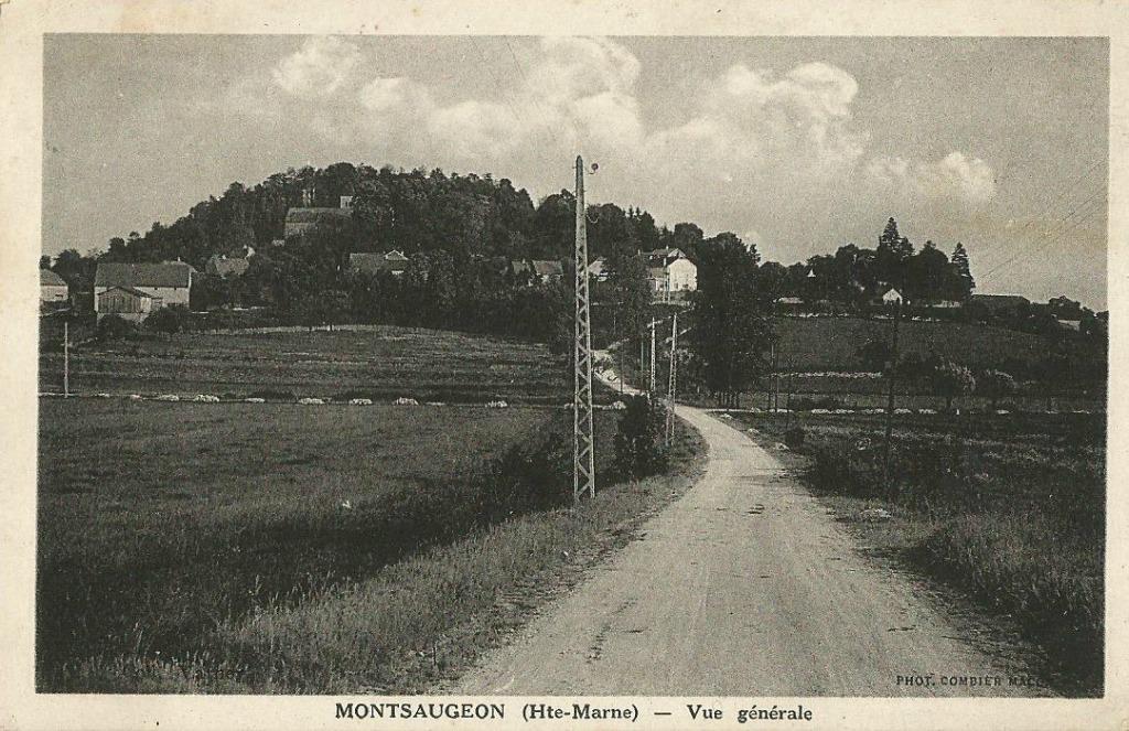 Montsaugeon 52 haute marne cartes postales anciennes for 52 haute marne