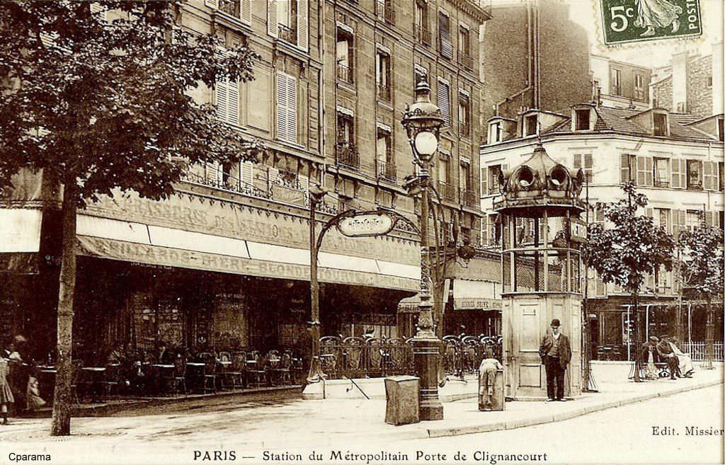 Paris porte de clignancourt paris xviiie arr cartes postales anciennes sur cparama - Marche porte de clignancourt ...