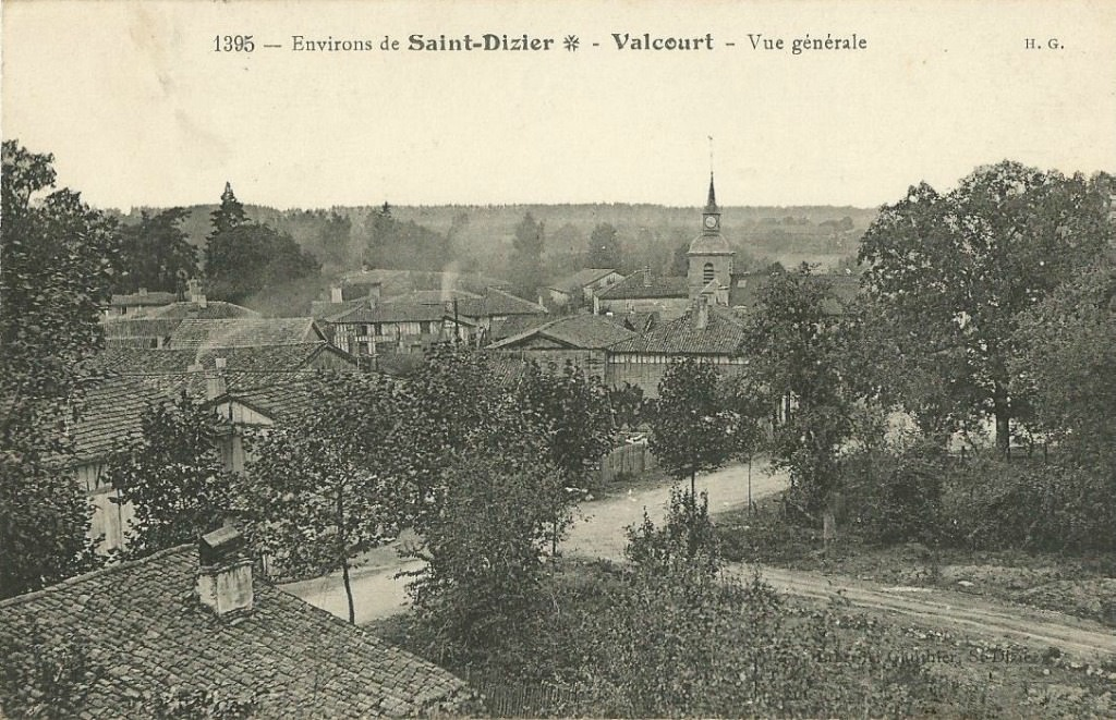 Valcourt 52 haute marne cartes postales anciennes for 52 haute marne