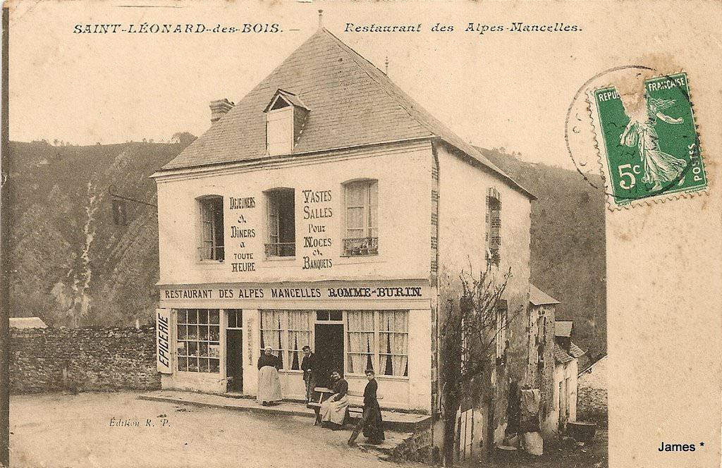 St Léonard Des Bois - Saint Léonard des Bois 72 Sarthe Cartes Postales Anciennes sur CPArama