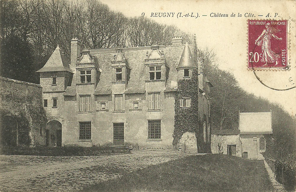 Cartes postales ville,villagescpa par odre alphabétique. - Page 11 1430212408-Reugny-chateau