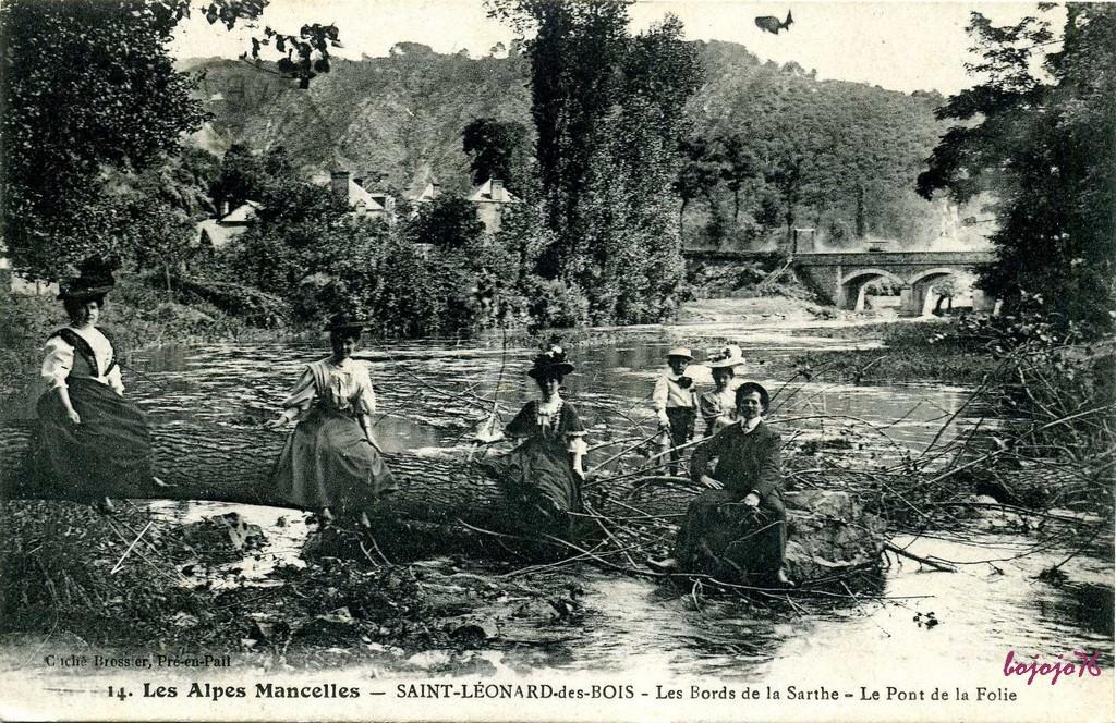 Accrobranche St Leonard Des Bois - Saint Léonard des Bois 72 Sarthe Cartes Postales Anciennes sur CPArama
