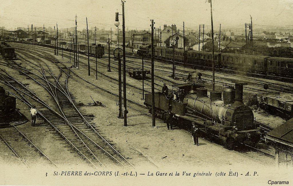 Saint pierre des corps 37 indre et loire cartes postales anciennes sur - Hormann st pierre des corps ...