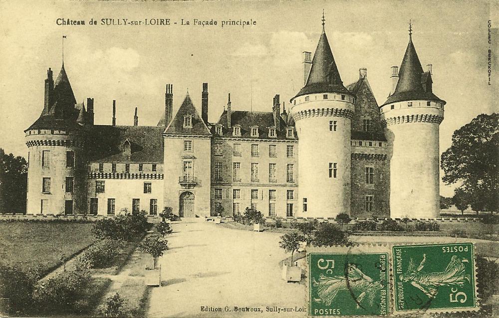 Sully sur loire 45 loiret cartes postales anciennes for Clair logis sully sur loire