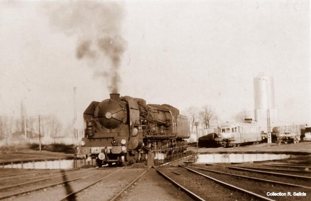 locomotives et trains de la sncf trains page 7 cartes postales anciennes sur cparama. Black Bedroom Furniture Sets. Home Design Ideas