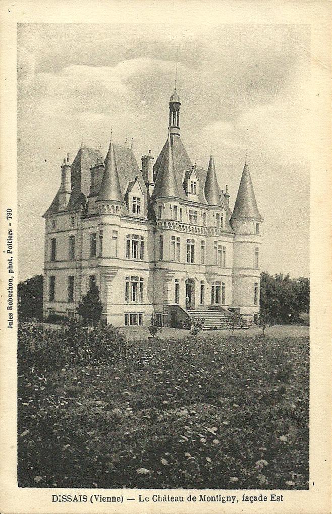 Dissay 86 vienne cartes postales anciennes sur cparama for 86 haute vienne
