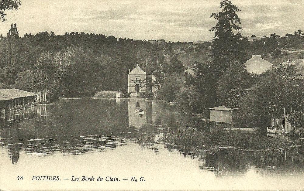 Poitiers rivi re clain poitiers cartes postales for Garage poitiers clain