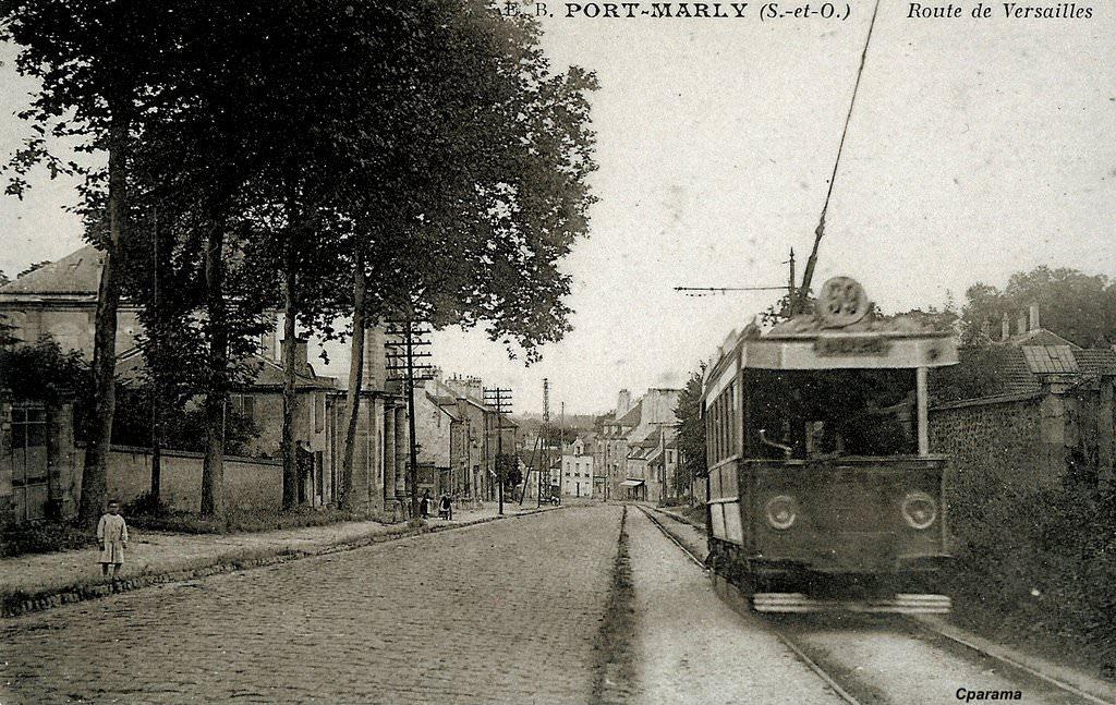 port marly 78 yvelines cartes postales anciennes sur cparama