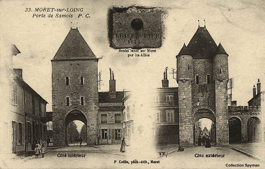 Moret sur loing 77 seine et marne page 2 cartes - La porte de bourgogne moret sur loing ...