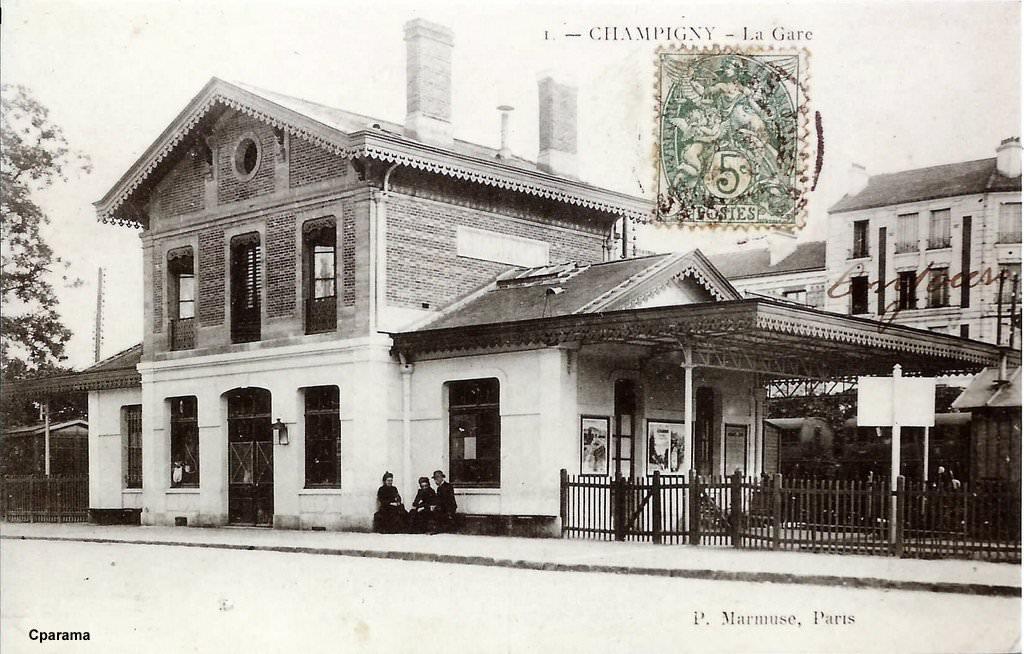 Champigny sur marne seine puis val de marne cartes for Garage a champigny sur marne