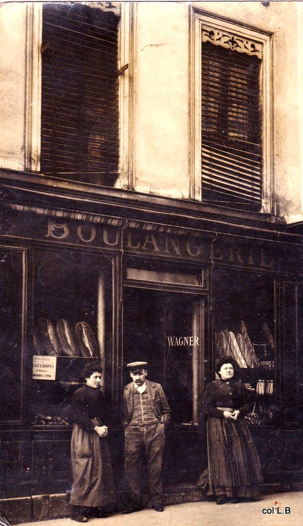 rues des boulangers