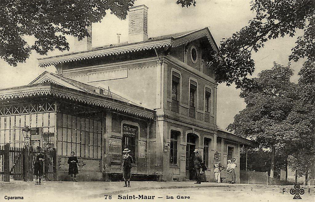 Saint maur des foss s seine puis val de marne cartes postales d 39 hier et photos d aujourd hui for Comboulevard de creteil saint maur