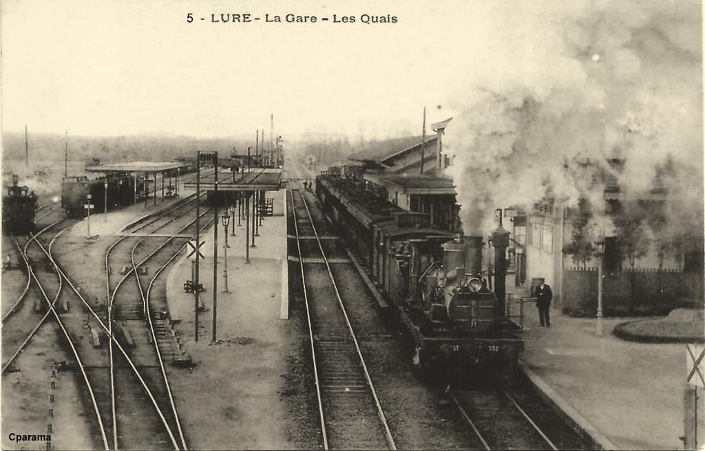 Lure 70 haute sa ne cartes postales anciennes sur for Lure haute saone