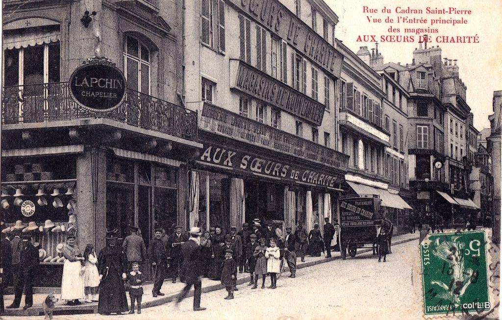 reims rue du cadran reims cartes postales anciennes sur cparama