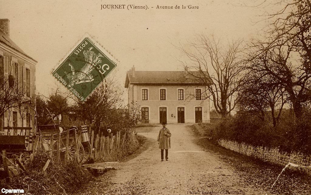 Journet 86 vienne cartes postales anciennes sur cparama for 86 haute vienne