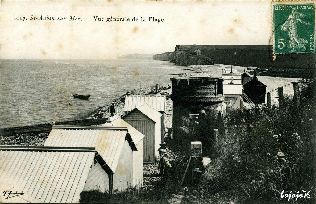 saint aubin sur mer 76 seine maritime cartes postales anciennes sur cparama. Black Bedroom Furniture Sets. Home Design Ideas