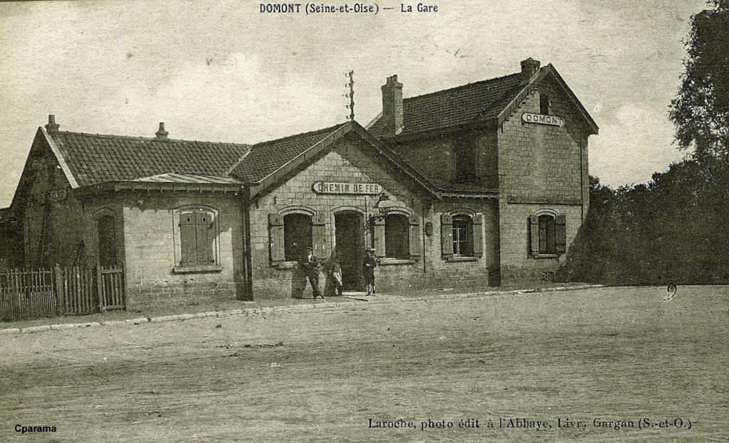 Domont 95 val d 39 oise cartes postales anciennes sur for Domont val d oise
