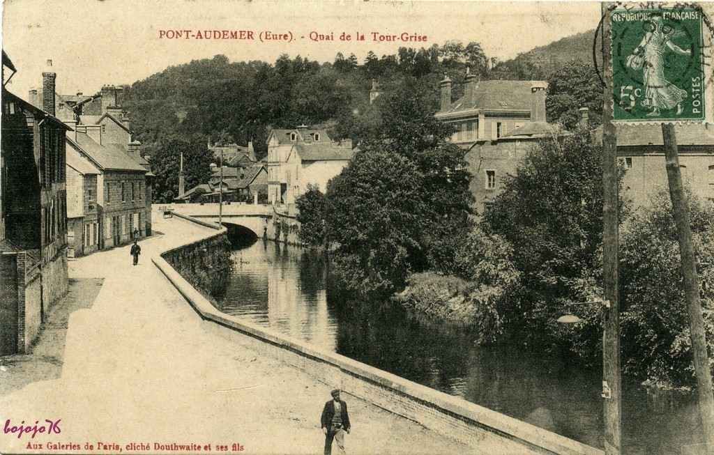 Pont audemer 27 eure cartes postales anciennes sur for Garage ad pont audemer