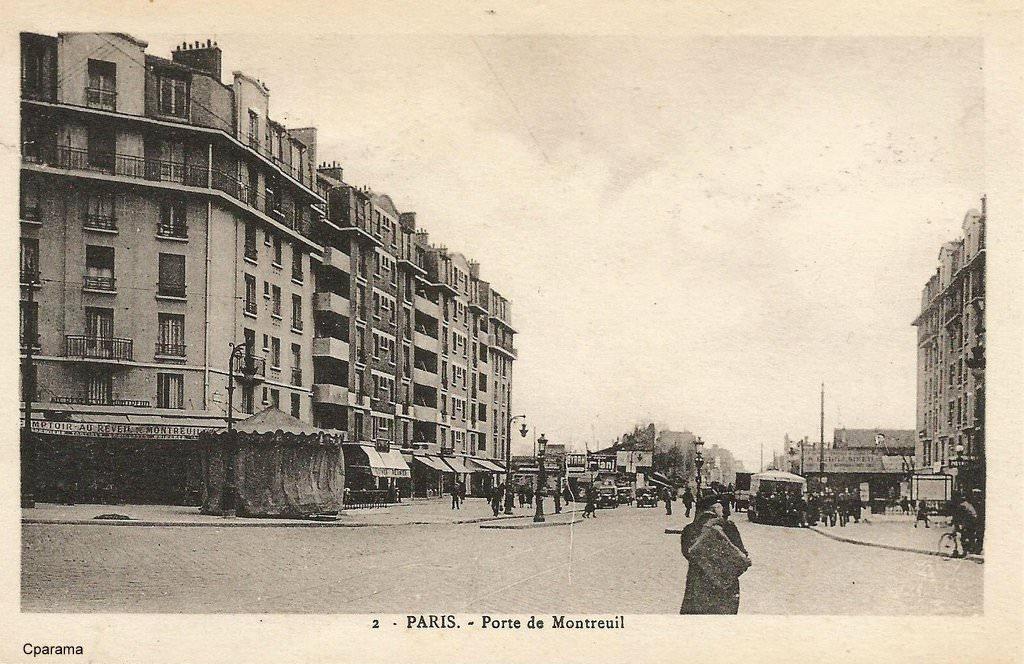 m 233 tro ou station porte de montreuil xxe