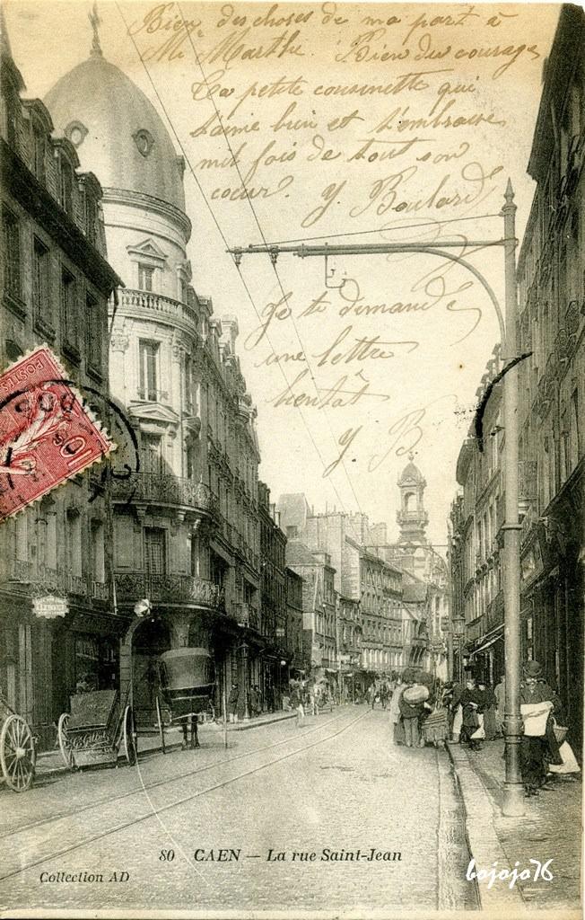 Caen 14 calvados page 4 cartes postales anciennes sur cparama - Rue saint laurent caen ...
