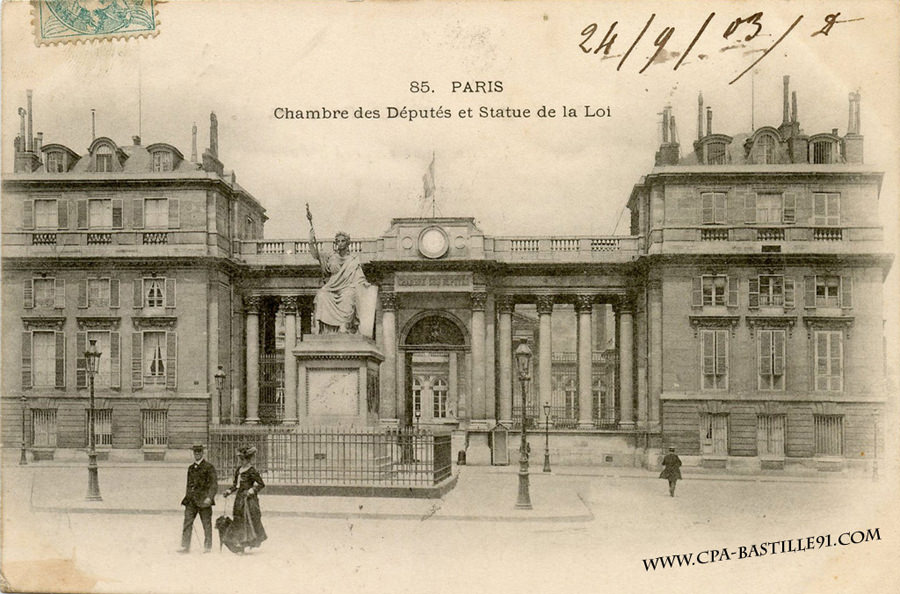 News de paris viie arr page 6 cartes postales for Chambre de deputes