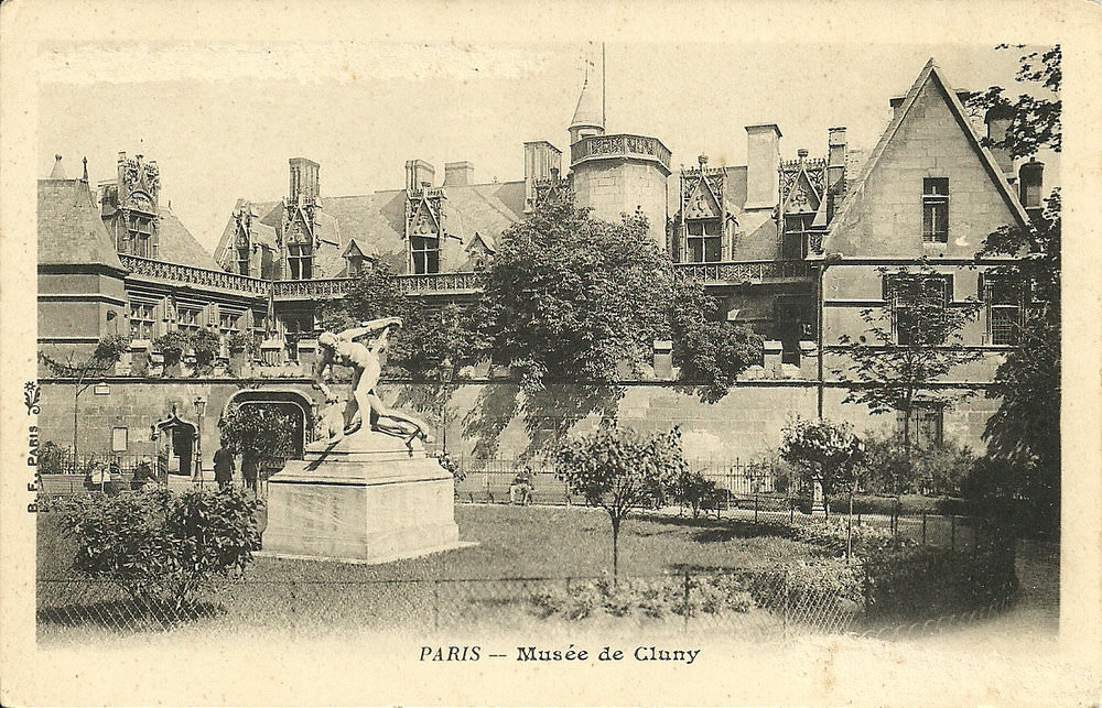 Paris Hotel De Cluny Paris Ve Arr Cartes Postales