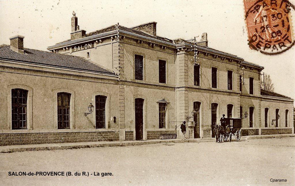 Salon de provence 13 bouches du rh ne cartes for Gare routiere salon de provence