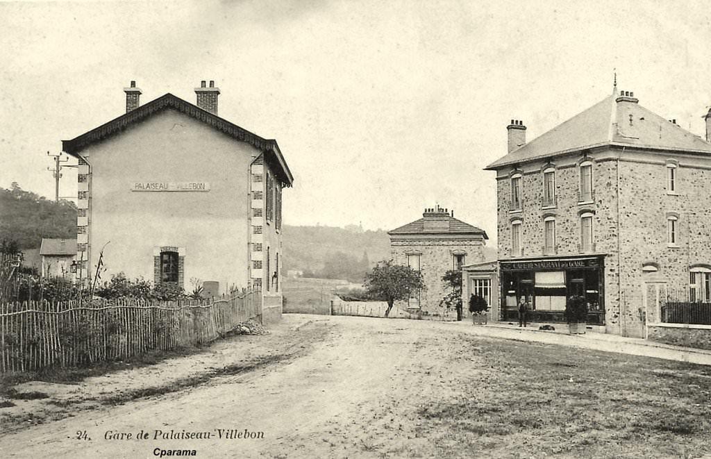 Palaiseau 91 essonne cartes postales anciennes sur for Piscine palaiseau