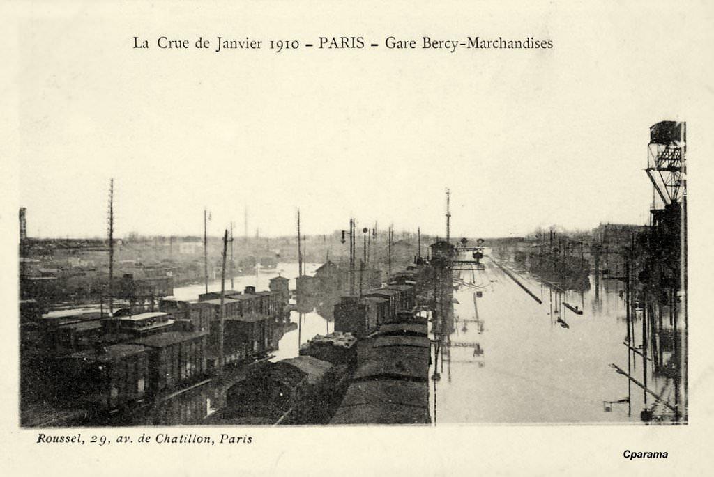 Paris Gare De Bercy Paris Xiie Arr Cartes Postales