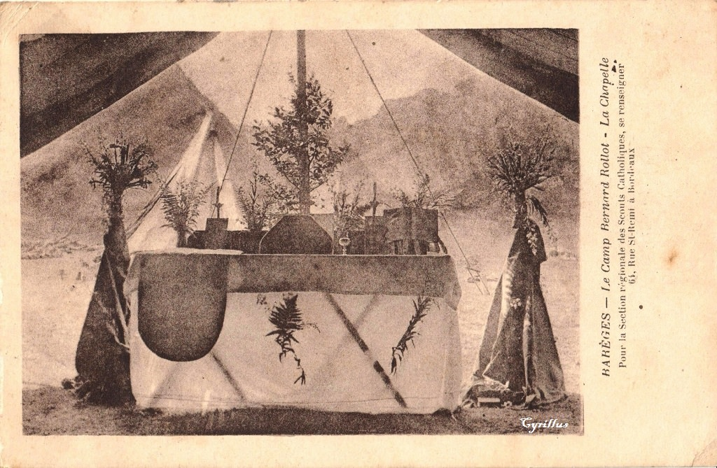 bar ges camp bernard rollot bar ges cartes postales anciennes sur cparama. Black Bedroom Furniture Sets. Home Design Ideas
