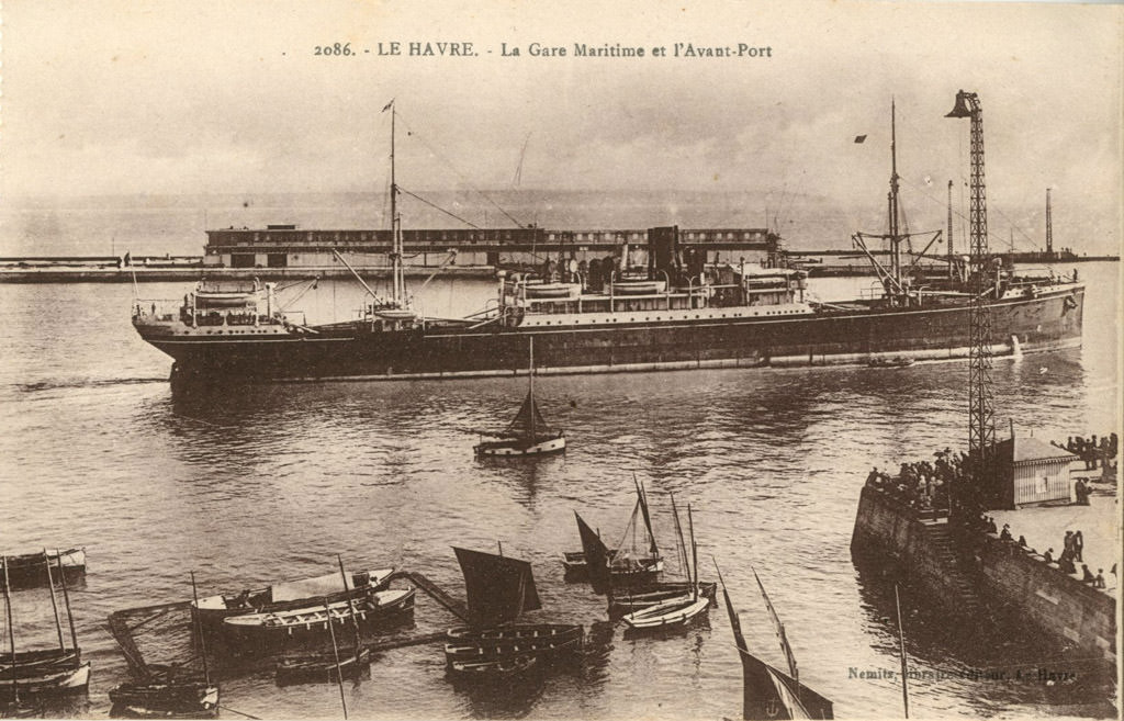 Le havre quais ports bassins le havre cartes postales anciennes sur cparama - Bassin pour balcon le havre ...